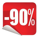 90% akció black friday